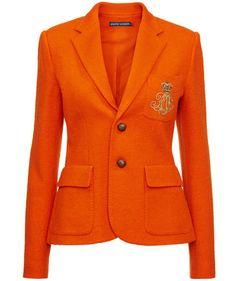 Like a pumpkin :) Ralph Lauren Blazer #fashion #engelhorn #trends #halloween