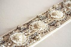 Discover MillieIcaro, beautifully intricate, each sash emanates old Hollywood Glamor and vintage feel making it both luscious and trendy wedding sashes