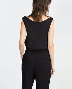 SLEEVELESS TOP-Going Out-WOMAN | ZARA United Kingdom
