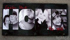 Super cute personalized photo sign DIY