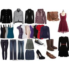 My  ideal minimalist wardrobe.