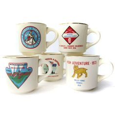 Collection of Scout Mugs