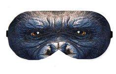 King Kong Monkey Sleep Eye Mask Masks Sleeping Blindfold Night Travel kit Eye Eyes cover covers patch accessory Eyewear Blindfold Eyeshade by venderstore on Etsy