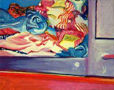 acrilico su tela, 40x60, dentro, 2004