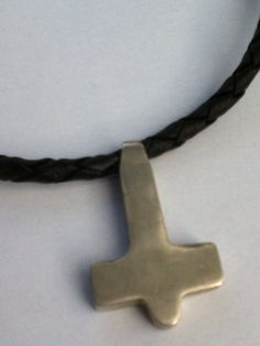 Mjollnir The Mythic Thors Hammer Pendant Is Made Of Sterling Silver