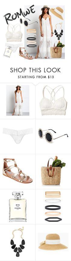 """""""San Tropez"""" by lily-mitchell ❤ liked on Polyvore featuring Hollister Co., Hanky Panky, Steve Madden, Chanel, Accessorize and Kendra Scott"""