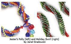 How to Stitch an Easy Spiral Rope - Daily Blogs - Beading Daily