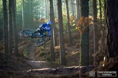 Its Official Guillaume Cauvin is riding for Giant Off road factory racing Check out some shots from a photo shoot with him at the Mecca of jumps in the UK Woburn Sands.