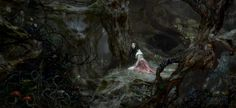 Justin Sweet, Snow White and the Huntsman concept (Fairies in the dark woods)
