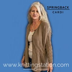 The Knitting Station provides Designer Knitting Patterns and Information Designer Knitting Patterns, Knitting Designs, Oversized Cardigan, Cardigans, Sweaters, Lace Sleeves, Hand Knitting, Pattern Design, Knitwear