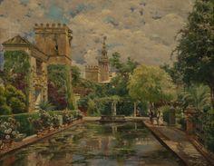 Manuel García y Rodríguez - Jardines del Alcázar de Sevilla #2