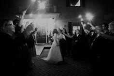 Sparkler Exit, Carl House Atlanta, Georgia Wedding Photography » Ashley Biess Photography