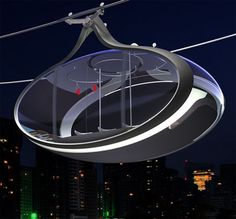 The Futuristic Urban Gondolas Is An Efficient, Fast, And Safe Public Transit
