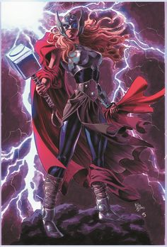 The Mighty Thor #15 variant cover by Mike DeoDato