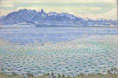 Le Lac de Thoune et la chaîne du Stockhorn (1904) de Ferdinand Hodler