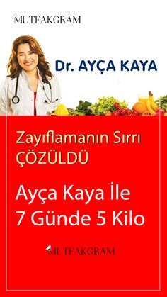 Ayça Kaya İle 7 Günde 5 Kilo – Health and Fitness Health Day, Health And Wellness, Health Fitness, Health Goals, 1200 Calories, Pound Fitness, Fitness Motivation Quotes, Fitness Goals, Diet Motivation