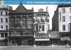PhillyHistory.org - Front Elevations 219-223 South Broad Street