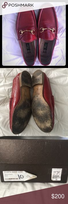 Men's Gucci Loafers Red Men's Gucci Loafers Gucci Shoes Loafers & Slip-Ons