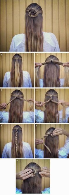 Image via We Heart It #hair #hairdo #hairstyle #updo