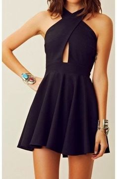 2016 custom black homecoming dress, simple sleeveless prom dress,short evening dress,sexy backless homecoming dress - elegant dresses, sexy prom dresses, cheap summer dresses *sponsored https://www.pinterest.com/dresses_dress/ https://www.pinterest.com/explore/dresses/ https://www.pinterest.com/dresses_dress/denim-dress/ https://www.francescas.com/category/dresses.do