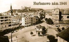 Hurbanovo námestie 1946 Bratislava, Paris Skyline, Arch, Travel, Display, Album, Times, Pictures, Voyage
