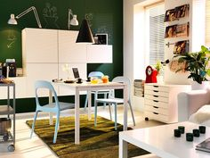 dining room design ideas for small spaces Ikea Dining Room, Dining Room Storage, Family Dining Rooms, Dining Room Design, Living Room, Kitchen Design, Small Room Interior, Small Space Interior Design, Decorating Small Spaces