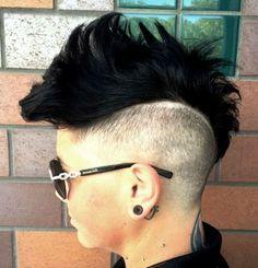 Get edgy! Dianne Nola | Curl Specialist http://www.NolaStudio.com San Francisco, CA