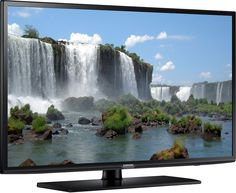 "Samsung UN40J6200 40"" Black LED 1080P Smart HDTV: Get it for $288.00 (was $447.99) #coupons #discounts"