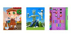 Golfing Games and Cartoons - Easy Games For Kids, Kid Games, Sports Games, Live Action, Cartoons, Golf, Animation, Entertaining, Children