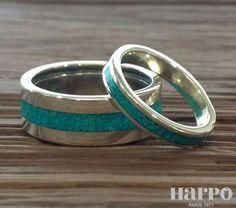 Harpo Bijoux © rings collection #nativemamerican #bagueturquoise #argent925 #navajo