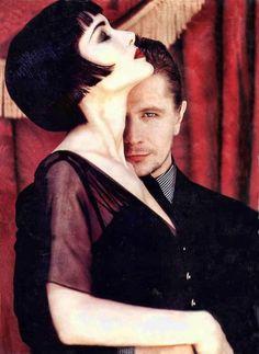 Gary Oldman & Winona Ryder fotografiados por Firooz Zahedi, 1992