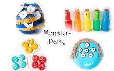 Monster Geburtstag: Spiele, Deko und Rezepte für Kinder