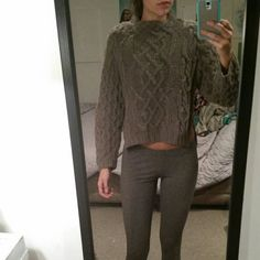 H&M Thick knit sweater Super cozy and warm. Awesome cut. Never been worn fits like small/medium H&M Sweaters Cowl & Turtlenecks