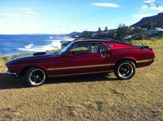 1969 Ford Mustang Mach 1 Cobra Jet $70,000 428 Manual