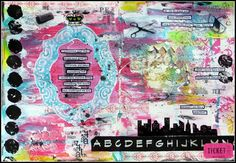 Somewhere over the rainbow: A year in the life of an art journal