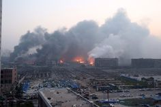 Am Morgen nach der Explosion wird das ganze Ausmaß der Schäden deutlich: Das...