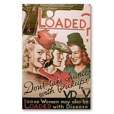 America's fear over the spread of venereal disease in WWII, its effect on the war effort and on the morality of women.