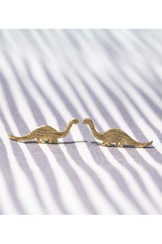 Exclusive to LOVODA / Dinosaur Earrings / $12.95