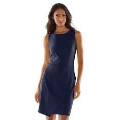 Sharagano Tulip-Hem Dress - Women's