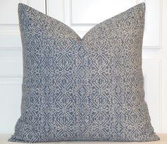 NEW  DOUBLE SIDED Ikat Decorative Pillow Cover  Lacefield