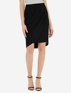 Wrap Look Skirt | Women's Skirts | THE LIMITED $36
