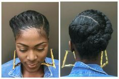Love this braided style