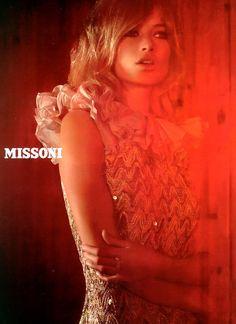 Carolyn Murphy by Camilla Akrans for Missoni F/W 2006