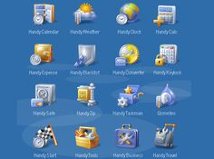 Very Nice Icons, I like this style
