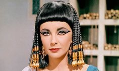 cleopatra 1963 hairstyles - Google Search