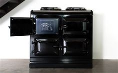New generation Aga: turns on in 8 minutes, by iPhone  The Aga, a cooker that has changed little in design since they went on sale in 1935, has entered the 21st century by producing an oven that can be fired up in a matter of minutes and controlled by an iPhone.