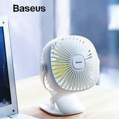 Baseus Mini Usb Rechargeable Air Cooling Fan Clip Desk Fan Twin Use House Scholar Dormitory Bedside Transportable Desktop Workplace Fan Montenegro, Student Bedroom, Office Fan, Student Dormitory, Fans For Sale, Ecuador, Portable Fan, Desk Fan, Mini