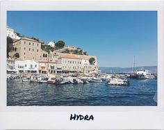 Postcard..   •  •  •  •  •  •  #polaroid #photography #travel #island #greece #vsco #summer #hydra #talkingaboutf