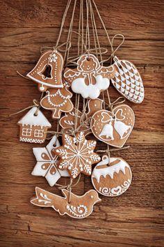 рождественское печенье трафареты