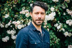 It my face. They my roses.  I love this time of year when the climbing roses are really going for it.  They make a sweet portrait backdrop too. Climbing Roses, Backdrops, Button Down Shirt, Men Casual, Portrait, My Love, Face, Sweet, Mens Tops